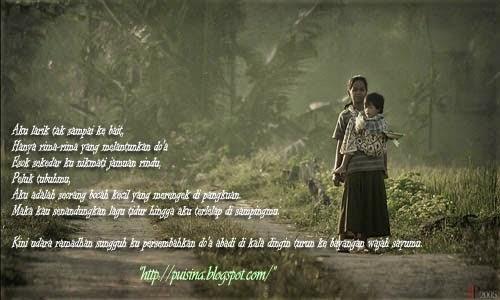 """Puisi Rindu Untuk Ibu Dari Rantauan By """"Sky Shucaya"""""""