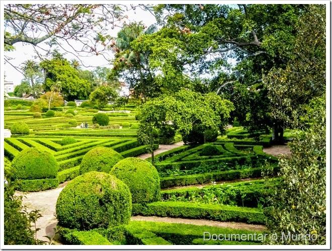 Parterre de buxo; Jardim Botânico da Ajuda; Ajuda; Lisboa