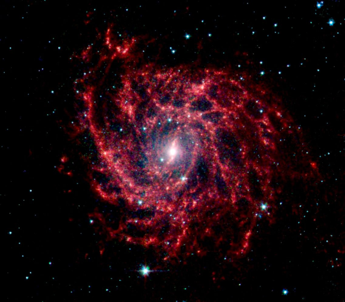 red space galaxy - photo #14