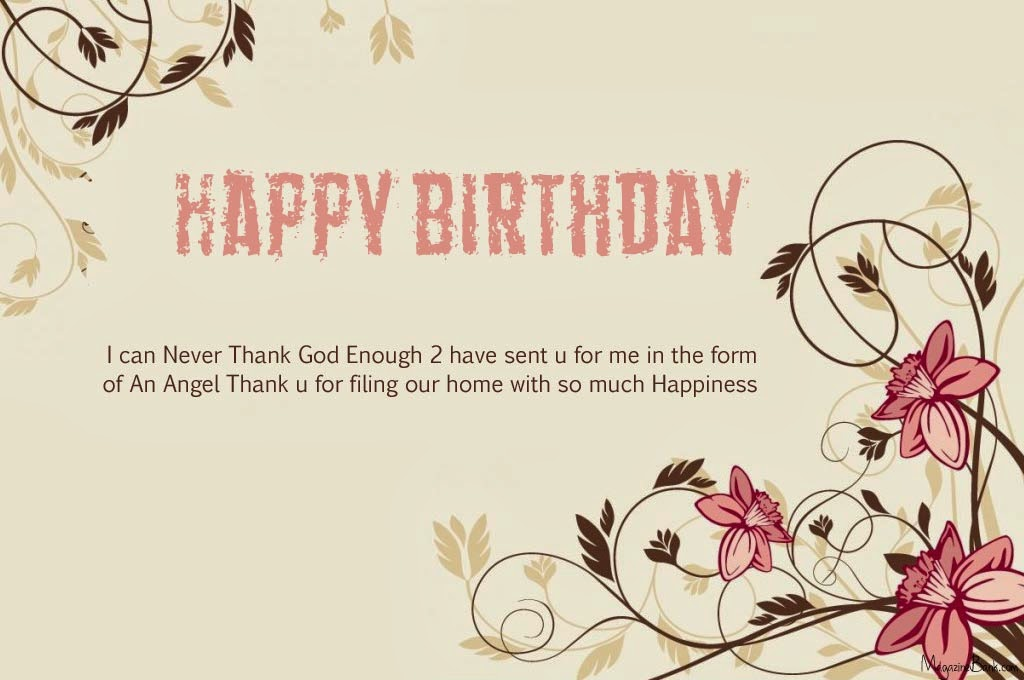 Happy Birthday Quotes SMS Text Messages For Wife With Images