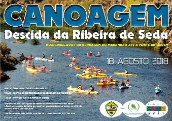 AVIS: DESCIDA DA RIBEIRA DE SEDA EM CANOA