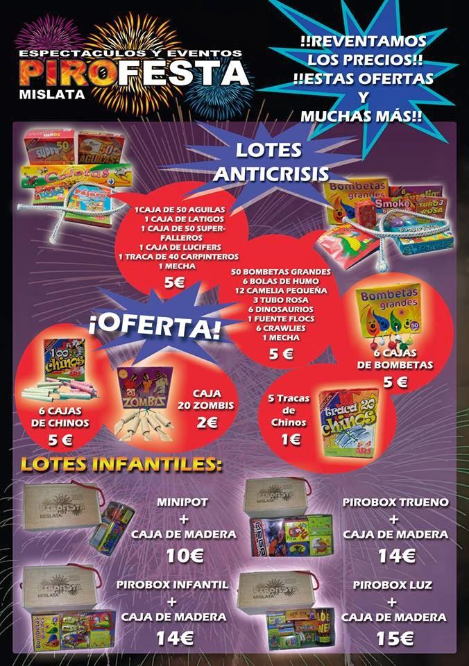 OFERTA ESPECIAL FALLAS 2014