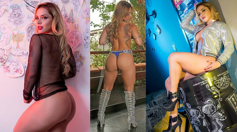 """Modelo fitness que ganhou o concurso """"Garota mais sexy do Brasil"""" mostra suas lindas curvas e deixa"""