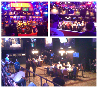 The final four tables at the 2012 WSOP Main Event