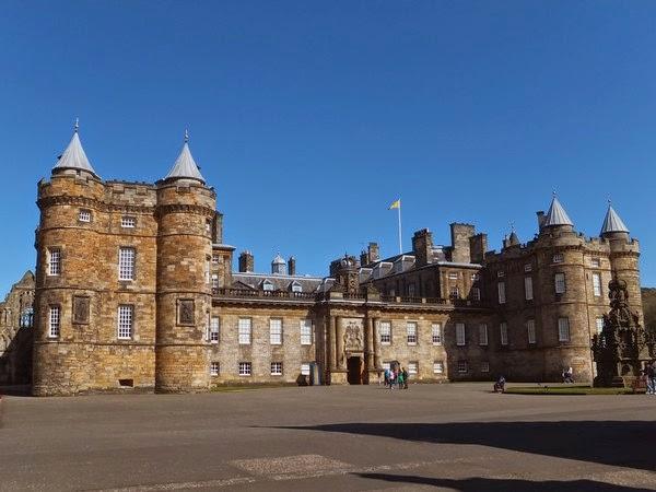 édimbourg edinburgh scotland écosse old town holyrood palace palais