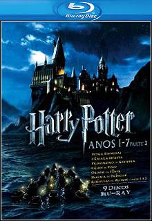 Coleção Harry Potter BluRay 1080p Dual Áudio + Legendas