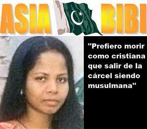 ¡Libertad para Asia Bibi!