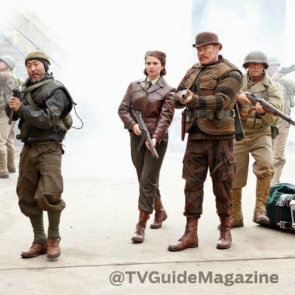 Hayley Atwell en Agentes de SHIELD T2