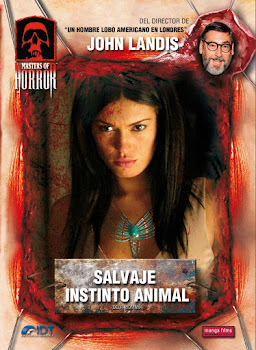 Salvaje instinto animal Poster