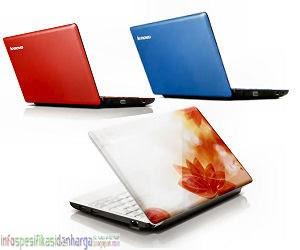 Harga Lenovo IdeaPad S110 703 Laptop Terbaru 2012