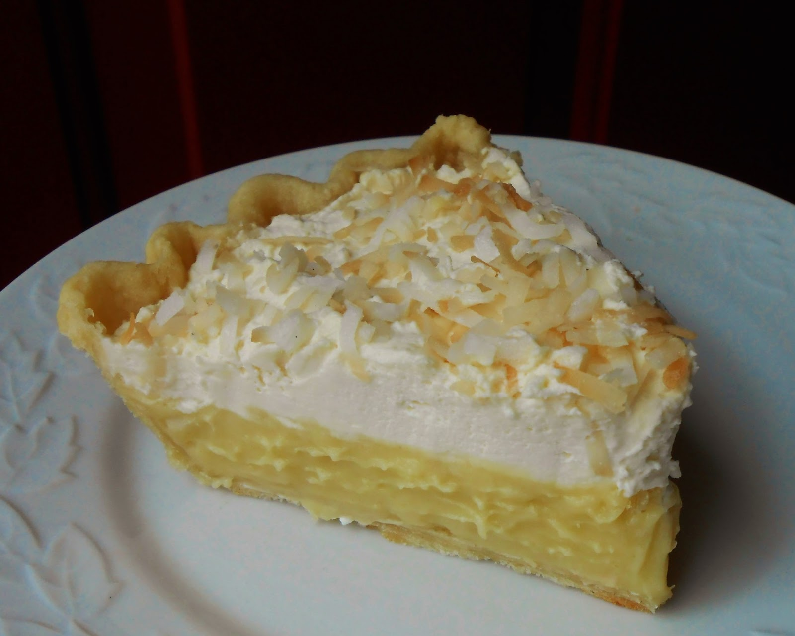 Baking Outside the Box: Coconut Cream Pie
