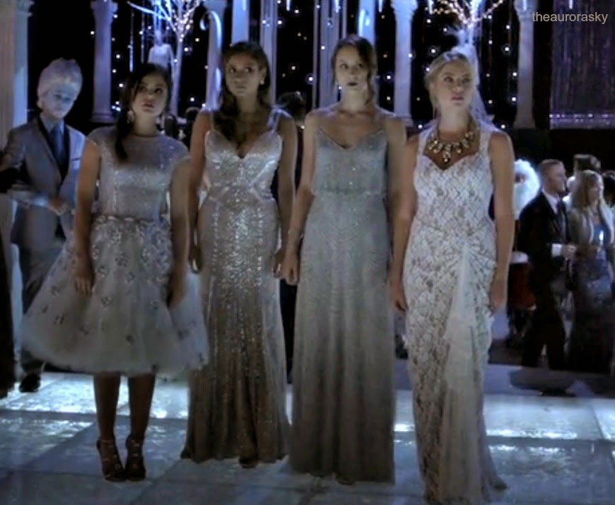 The aurora sky pll season 5 party amp funeral looks who wore it best
