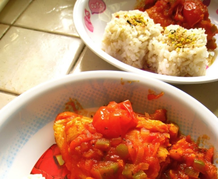 Mamabliss : Simply One Pot - Fish in Tomato Sauce