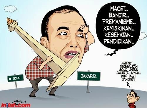 Gambar Karikatur Jokowi Capres Lucu Kartun Politik