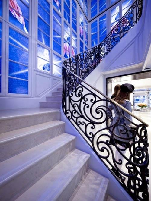 Christian Dior stair