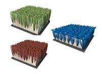 Colores homologados del suelo de las pistas de pádel