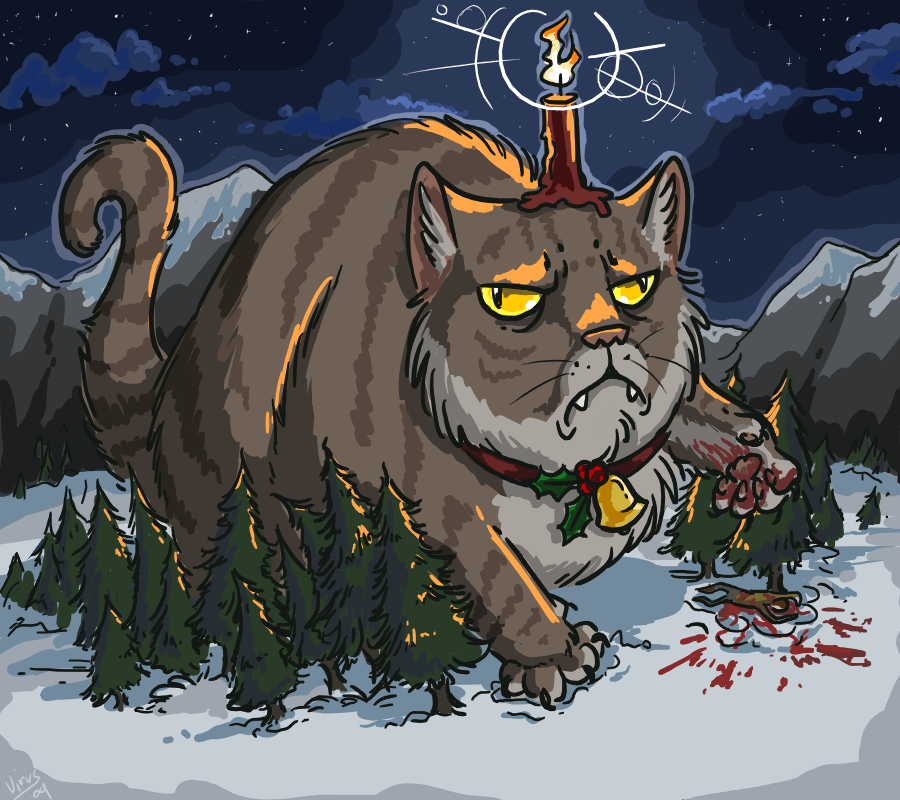 Stellar Four Yule Cat That Ugly Christmas Sweater Might