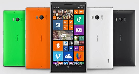 Nokia Lumia 930 official photo leaks, reveals four color options
