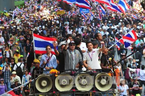 Thái Lan, chính trị, biểu tình