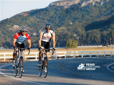 balancing training and racing with Peaks Coaching Group