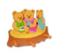 Bear Peg