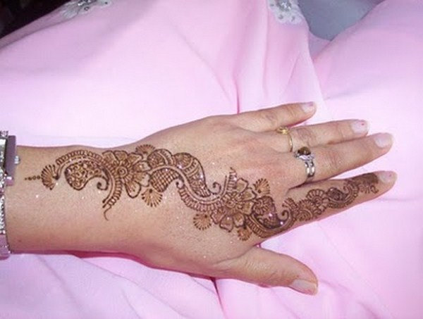 Mehndi Designs For Fingers S : The fashion time simple mehndi designs for fingers