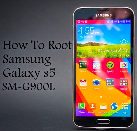 how to root samsung galaxy s5 sm-g900l on lollipop android 5.0