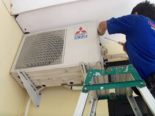 Service ac surabaya bocor air