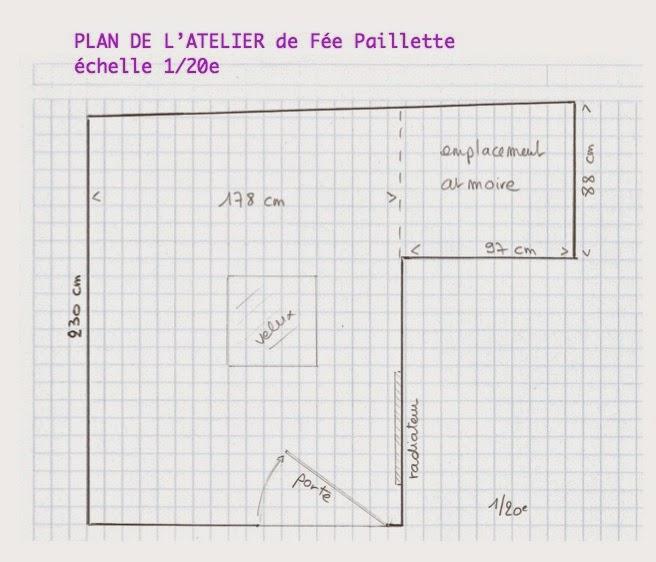 Les astuces de f e paillette comment cr er un atelier ou am nager un coin co - Plan d atelier de bricolage ...