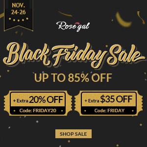 Black Friday Rosegal