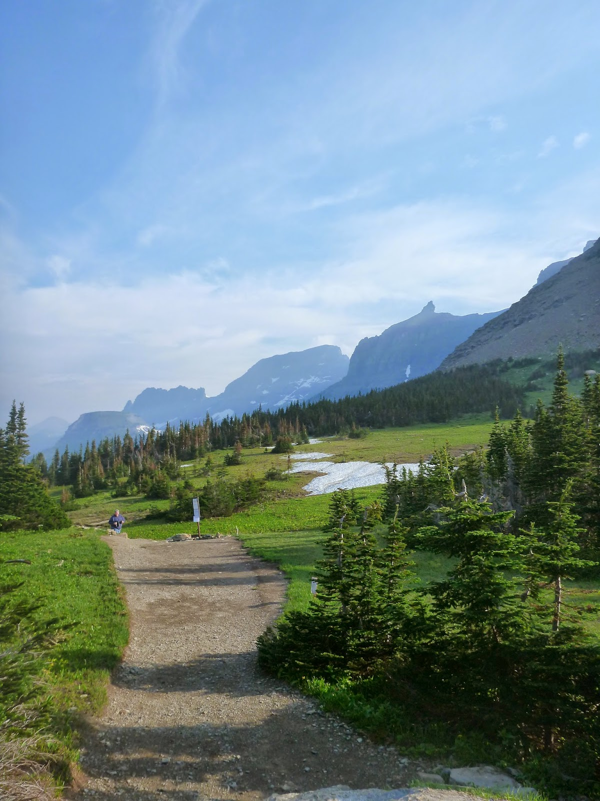 Hiking The Rockies And Beyond Highline Trail Garden Wall Glacier National Park