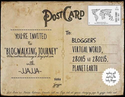 Give Away Blogwalking With Jjajja