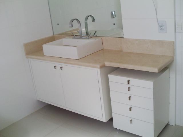 A Casa da Sheila Tons de granito e mármore -> Pia De Banheiro Rosa