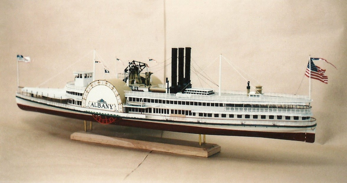 Hudson River Model Steamboats Hudson River Line Albany C