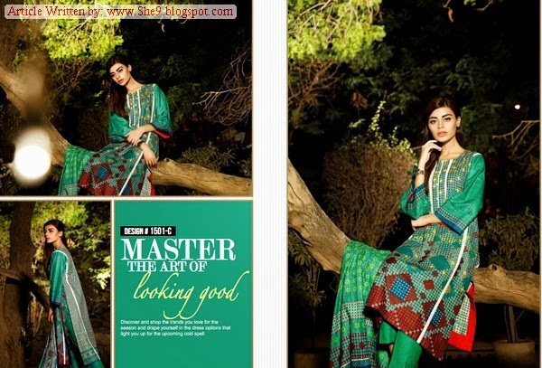 Ittehad Royal Khaddar Dress Series