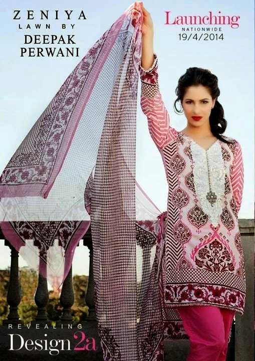 Best Zeniya Lawn Collection by Deepak Perwani