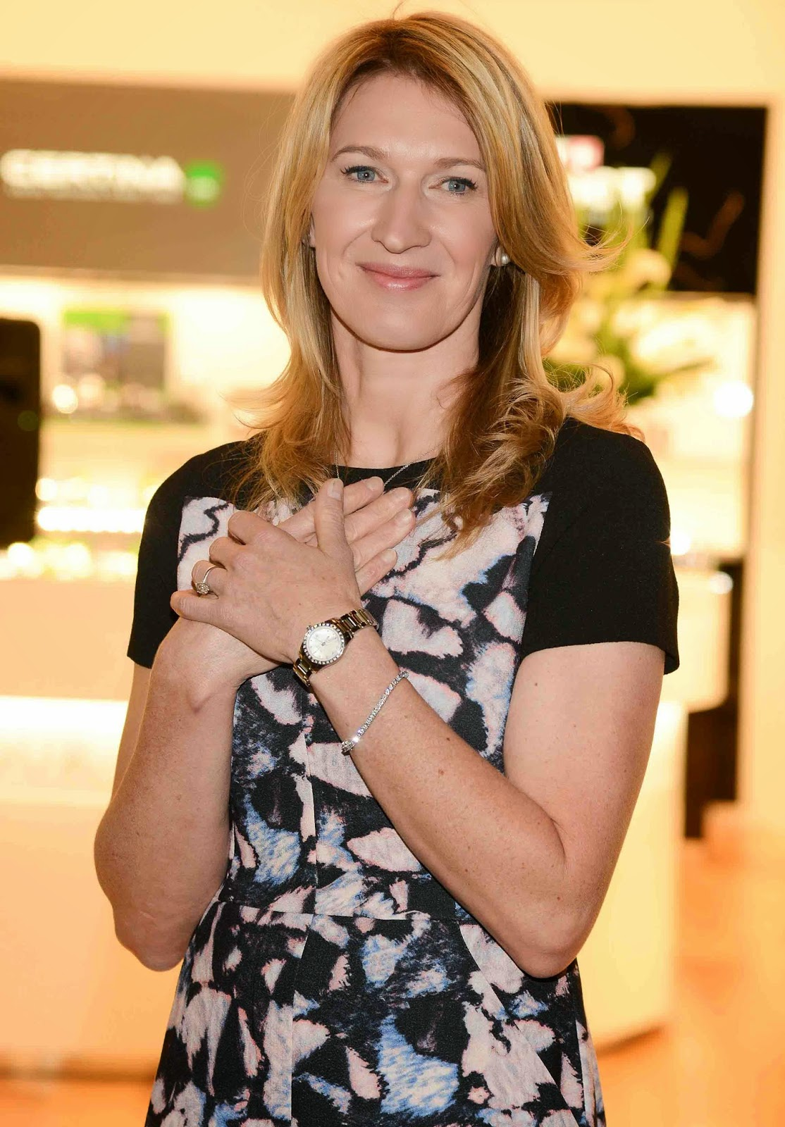Times Square Gossip STEFFI GRAF AT VEGAS HOUR PASSION BOUTIQUE
