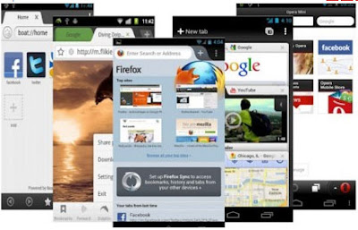 Web Browser Ponsel Android