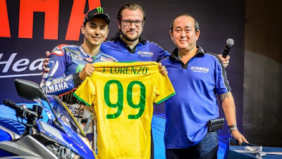 'Ke Indianapolis, Lorenzo Malah Nyangkut di Brasil'
