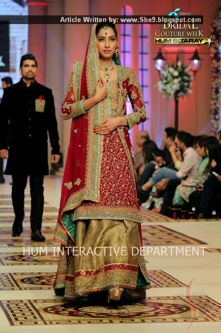 Mehdi Bridal Collection at #TBCW2014