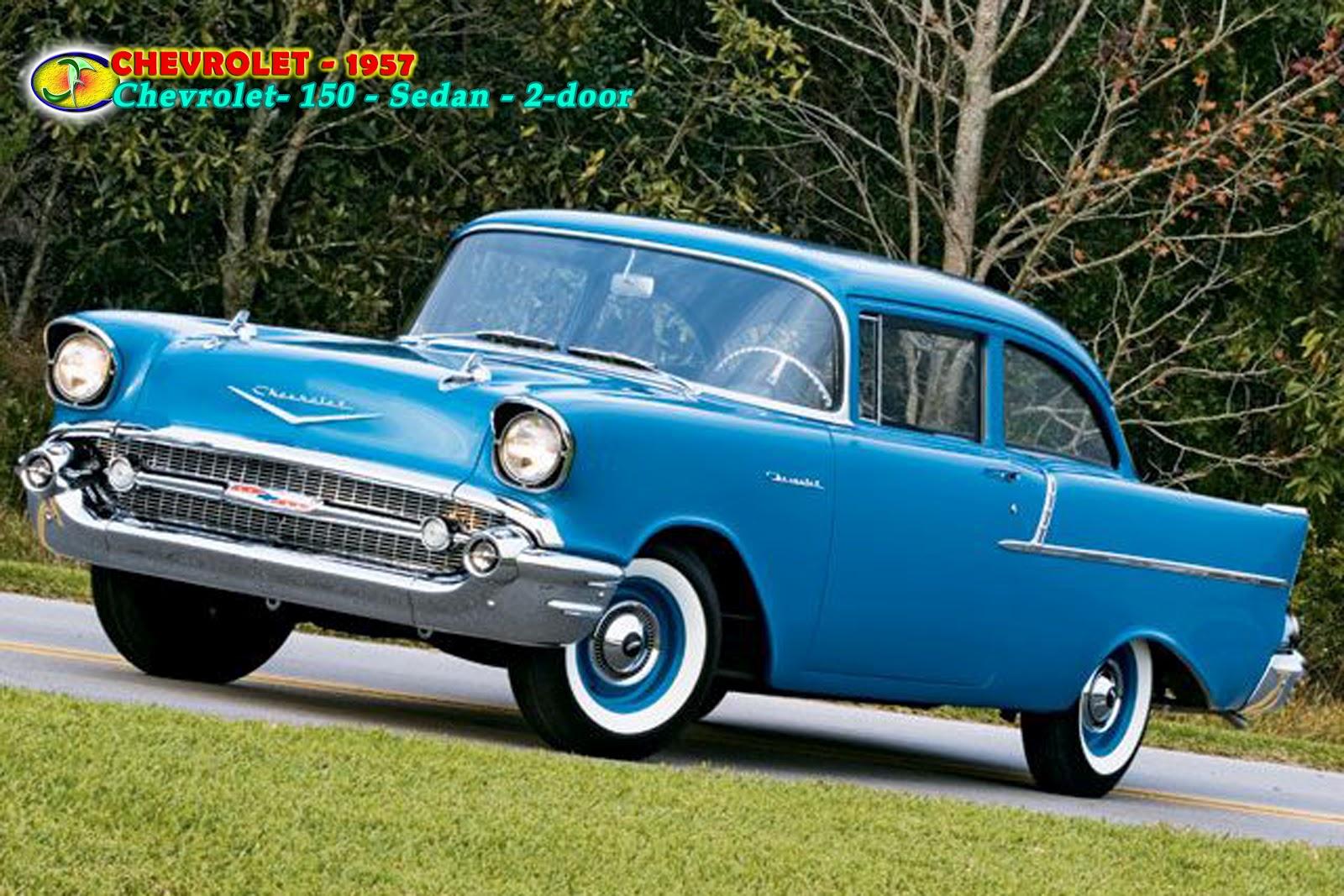 Autom veis chevrolet 1953 1957 chevrolet 150 for 1957 chevy 2 door sedan