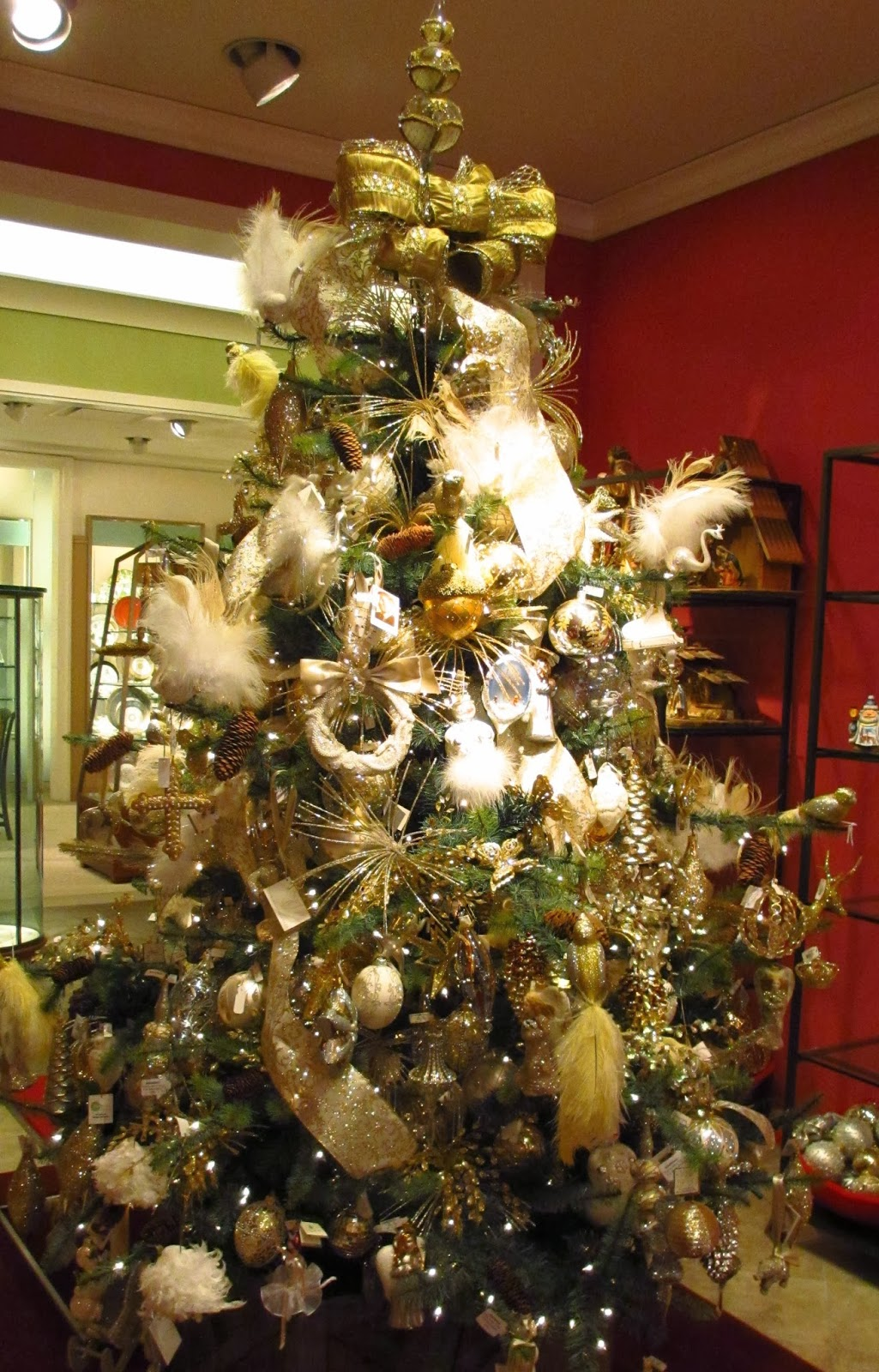a modern take on classic christmas tree found on mneimanmarcuscom trees trees tree decor