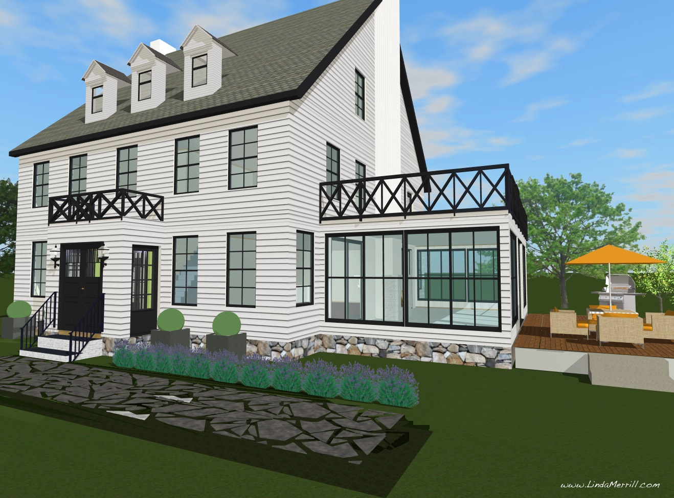 Home additions http myipamm net 3 story home plans look out decks