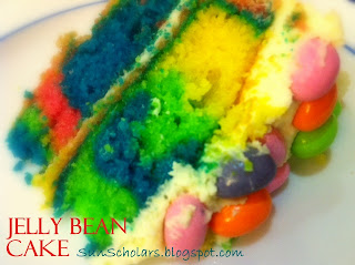 Jelly Bean Easter Cake Recipe