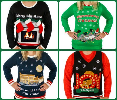 festified tacky christmas sweaters