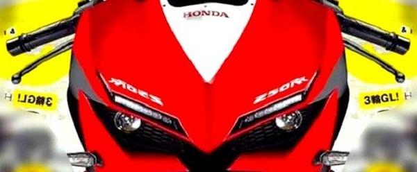 Sang Tampang Honda CBR250RR Gayanya Seperti ini???.. Bakal Heboh Broe Jagat Raya Pramotor??!!