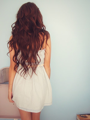 gorgeous hair, soft curls, long waves, brunette