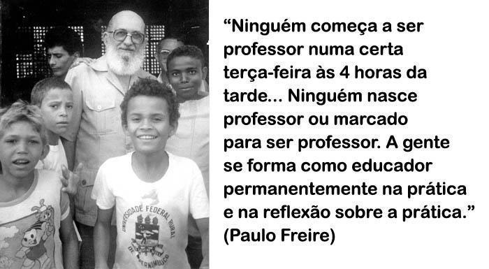 Especial Paulo Freire Por Uma Educação Libertadora Portal