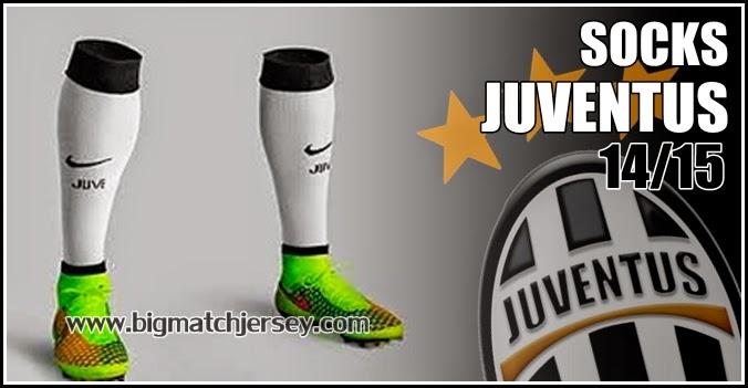 Juventus Home Kit Socks 2014-15