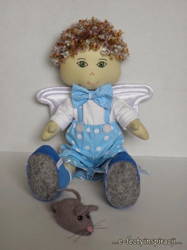 lalka aniołek